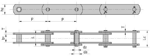 FV series conveyor chain